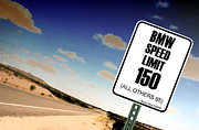 Highway Signs Posters - New Limits  Poster by David Jackson