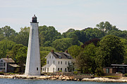 Habor Prints - New London Harbor Lighthouse Print by Christiane Schulze