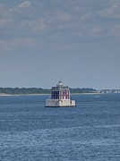New England Lighthouse Prints - New London Shelf Light Print by Joshua House