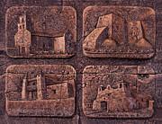 New Mexico Churches Print by Ricardo Chavez-Mendez