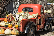 Farm Stand Posters - New Mexico Fall Harvest Truck Poster by Steven Bateson