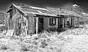 Haunted Shack Framed Prints - New Mexico Haunted Shack Framed Print by Gregory Dyer
