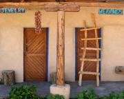 Store Fronts Photo Prints - New Mexico Shop Fronts Print by Heidi Hermes