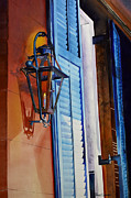 Night Lamp Paintings - New Orleans at Night by Phyllis London
