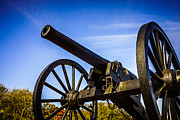 Artillery Photo Metal Prints - New Orleans Cannon at Washington Artillery Park Metal Print by Paul Velgos