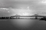 Famous Cities Prints - New Orleans CCC Bridge Print by Christine Till