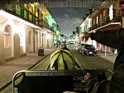 Louisiana Prints - New Orleans - City at Night - 121222 Print by DC Photographer