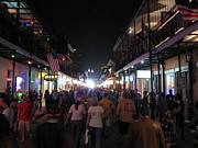 Nightlife Posters - New Orleans - City at Night - 12125 Poster by DC Photographer