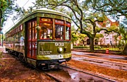 Streetcar Prints - New Orleans Classique oil Print by Steve Harrington