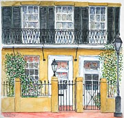 Louisiana Artist Paintings - New Orleans Dauphine Street by Anthony Butera