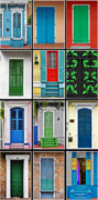 New Orleans Doors Print by Christine Till