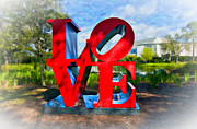 Love Sculpture Digital Art Posters - New Orleans Love 2 Poster by Steve Harrington