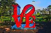 Love Sculpture Digital Art Posters - New Orleans Love 3 Poster by Steve Harrington
