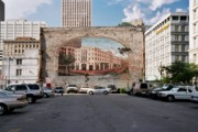 New Orleans Scenes Art - New Orleans Mural by Allen Beatty