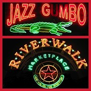 Riverwalk Originals - New Orleans Neon by Steven Parker