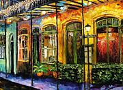New Orleans Original Painting Print by Beata Sasik