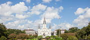 Town Square Prints - New Orleans Panorama Print by Kay Pickens