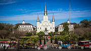 Jackson Digital Art Prints - New Orleans Print by Perry Webster