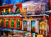 Hall Painting Prints - New Orleans Preservation Hall Print by Diane Millsap