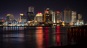 New Orleans Skyline Print by Richard Mason