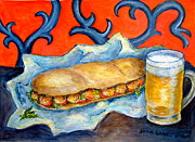 Snack Bar Art - New Orleans Special by Joan Landry