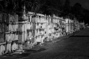 New Orleans St Louis Cemetery No 3 Print by Christine Till