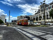 Nola Prints - New Orleans Street Car 001 Print by Lance Vaughn