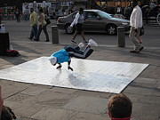 Performance Prints - New Orleans - Street Performers - 121227 Print by DC Photographer