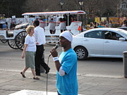 New Orleans - Street Performers - 12126 Print by DC Photographer