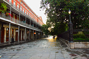Louisiana Sunrise Photos - New Orleans Streets by Ryan Burton