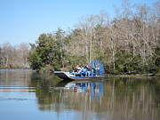 Ride Photos - New Orleans - Swamp Boat Ride - 121288 by DC Photographer