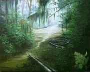 New Orleans Swamp Print by Susan Moore