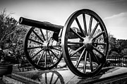 Artillery Photo Framed Prints - New Orleans Washington Artillery Park Cannon Framed Print by Paul Velgos