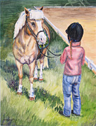 Arena Painting Prints - New Partners Print by Kristine Plum