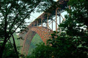 Thomas R Fletcher Metal Prints - New River Gorge Bridge  Metal Print by Thomas R Fletcher