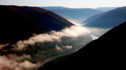 River. Clouds Framed Prints - New River Gorge National River                           Framed Print by Thomas R Fletcher
