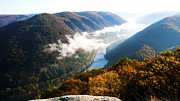 West Photos - New River Gorge National River by Thomas R Fletcher