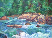 Kendall Originals - New River Rapids by Kendall Kessler