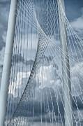 New Skyline Bridge Print by Joan Carroll