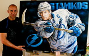 Sports Art World Wide John Prince - New Stamkos Original...