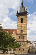 Prague Photos - New town hall Novomestska radnice Prague by Matthias Hauser