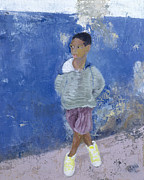 Shock Paintings - New Trainers Havana Cuba by Kate Yates
