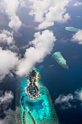Jenny Rainbow - New Upcoming Resort 4.  Aerial Journey over Maldives