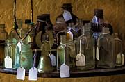 Lynn Palmer - New York 1947 Crystal Eagle Bell and Bottles