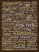 East Coast Digital Art Posters - New York 20130709bwwa85 Poster by Wingsdomain Art and Photography