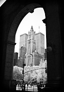 Woolworth Posters - New York Arches 1990s Poster by John Rizzuto