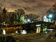 Nightscapes Prints - New York - Central Park 009 Print by Lance Vaughn