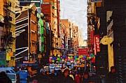 New York City 149 Print by Victor Gladkiy