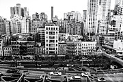 Skylines Metal Prints - New York City - Above it All Metal Print by Vivienne Gucwa