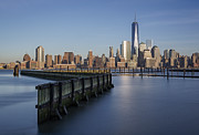 New York City Financial District Print by Susan Candelario